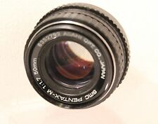 50mm f1.7 SMC PENTAX-M MANUAL FOCUS PRIME LENS 4 PENTAX FILM & DIGITAL SLRs(792)