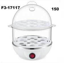 Double Layer Egg Boiler Cooker and Steamer (Color May Vary)