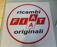 ADESIVO RICAMBI ORIGINALI FIAT ABARTH 131 RITMO 130 UNO TURBO