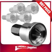 Plasterboard Countersink Screw Dimpler Adapter Bit 5 Pieces 25mm Hex Shank