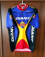 Campagnolo Giant Racing Team Vintage Cycling Shirt Jersey Half zip size 7