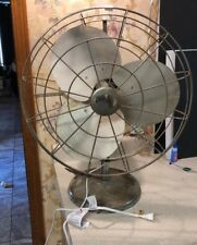 "Rare Vintage 16"" Tabor Blade Metal frame & Blades Speed Box Fan"