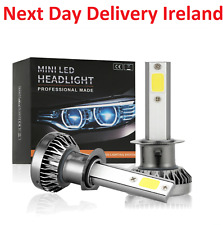MINI LED 8000LM Headlight Bulbs Conversion Kit Bulb Replacement 6000K Hi/Lo Beam