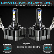 Stark 72W 7600LM Headlight LED Canbus Conversion Kit 6000K White D3S D3R D3C (A)