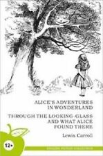 Modern Book Lewis Carroll Alice in Wonderland Children kids Old English Russia