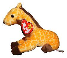 TY Beanie Baby Twigs Giraffe Golden Yellow PE Pellets 1995 EUC JB