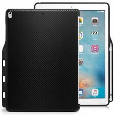 Funda iPad Pro 12.9 2017 KHOMO Carcasa Trasera USADA Tablet Fibra de Carbono