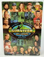 Survivor - All-Stars: The Complete Eighth Season (DVD, 2004, 7-Disc Set) New