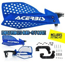 Acerbis X-Ultimate MX Motocross Handguards Blue/White Yamaha YZF450 YZ450F 2014