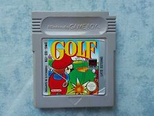 GOLF NINTENDO GAME BOY GB COLOR GBC ADVANCE GBA LOOSE CARTUCCIA ITALIANO MATTEL