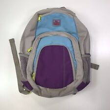 Super Cute  Dakine Hawaii Backpack Used Condition Gray Purple Blue See Pics #157