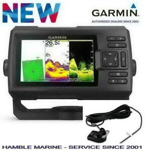 Garmin STRIKER VIVID 5CV Colour Sounder Sonar Fish Finder GPS + CHIRP Transducer