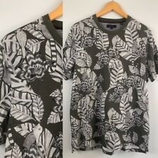 Ted Baker Tee Size 5 Monochrome Jungle print leaves & small Marsupials