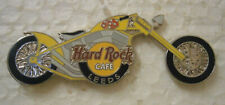 Hard Rock Cafe LEEDS Chopper Bike Pin .