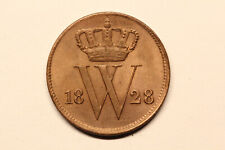 Netherlands / Willem I - 1 cent 1828 Brussel *quality* (#51)