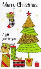 Merry Christmas Moneyholder Christmas Gift Card Money Wallet Cards