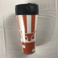 Texas Longhorns Tumbler Coffee Mug Thermoserv USA Made Student Alumni Cup Travel