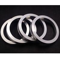 72.6 - 65.1 Spigot Rings, Set of 4, TUV Approved, Vauxhall, VW Transporter T5