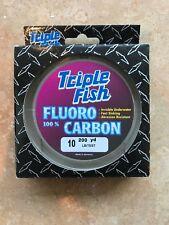 200 yard spool Triple Fish Flourocarbon 10 pound test
