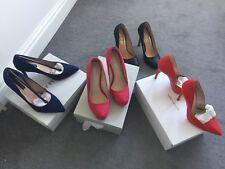 Pink Carvella Damas Court Shoes. para mujer rosa calzado de tacón. tribunales para mujer Talla 37