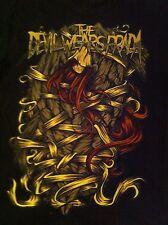 Vintage Devil Wears Prada T-shirt Concert Tour Live Rare Heavy Metal Hot Topic