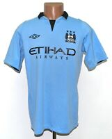 MANCHESTER CITY 2012/2013 HOME FOOTBALL SHIRT JERSEY UMBRO SIZE S ADULT