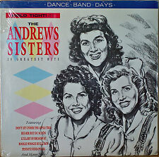 HOLD TIGHT IT'S THE ANDREWS SISTERS-SEALED1987LP UK IMP/GER PRESSING 20 HITS