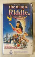 The Magic Riddle VHS 1991 Aus Animated Film Yoram Gross Roadshow Small Soft Case