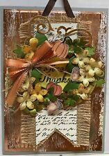 Handmade Fall/thanksgiving Cards