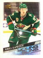 Kirill Kaprizov 2020-21 Upper Deck Young Guns RC Rookie Wild MINT+++ 🔥🔥🔥