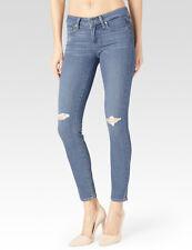 Paige Verdugo Ankle Ultra Skinny Transcend Teagan Destructed Jeans 30 New $199