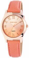 Excellanc Damenuhr mit Lederimitationsarmband Uhr 193023500426
