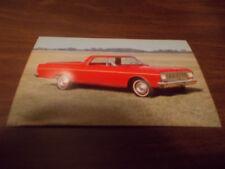 1966 Ford Ranchero Advertising Postcard
