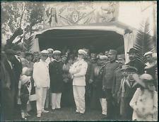 Tunisie, Tunis, Armée Française, Kermesse Serbe, Officiers, Costumes Typiques  V