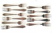 Vintage Gero Zilmeta Cutlery Dutch Pastry Forks 11x B809