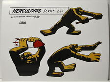 HERCULOIDS MODEL SHEET PRINT - IGOO w Rocket Hanna Barbera