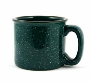 Marble Creek Ceramic Campfire Mug, 15oz (Green)
