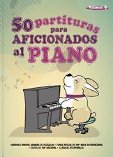 """VOLUMEN 6 """"50 PARTITURAS PARA AFICIONADOS AL PIANO"""""""