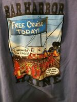 THE DUCK COMPANY Bar Harbor..Free Cruise Today! Mens T Shirt XL Maine