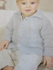 baby knitting pattern jumper 0 years to 7 years 4 ply