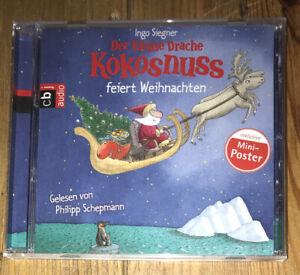 Der Kleine Drache Kokosnuss Cd Hörspiel Feiert Weihnachten Zustand Wie Neu