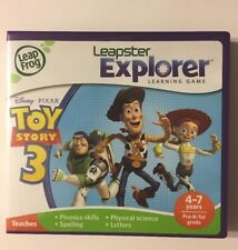 LEAP FROG LEAPSTER EXPLORER TOY STORY 3  Disney Pixar GUC