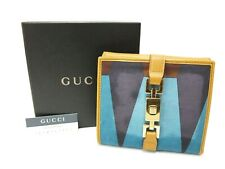 Authentic GUCCI Wallet Tri-fold Multi-color Jackie