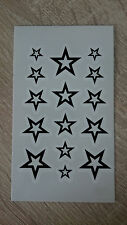 10x6cm Sheet-High-Quality-Fake-Tattoo-Stars-Waterproof-Temporary