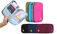 2 PACK x PASSPORT HOLDER Travel Wallet Storage Bag Accessory Essential Organiser