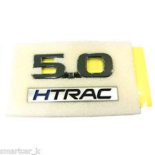Trunk Lid 5.0 HTRAC emblem badge for 2017 2018 Hyundai Genesis G90