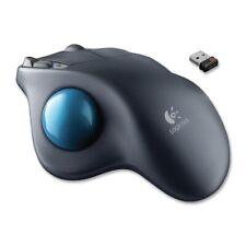 Logitech M570 Trackball - Laser - Wireless - Radio Frequency - Dark Gray - USB -