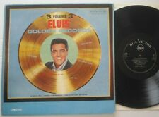 ELVIS PRESLEY ELVIS GOLDEN RECORDS VOLUME 3 ITALY RCA VICTOR ITALY LP NEAR MINT