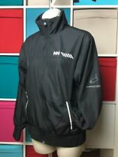 🆕 Helly Hansen Ladies Black Thin Jacket Size S 8UK Hydropower Pro Series