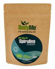 BodyMe Organic Spirulina Powder 50 g (Soil Association Certified)